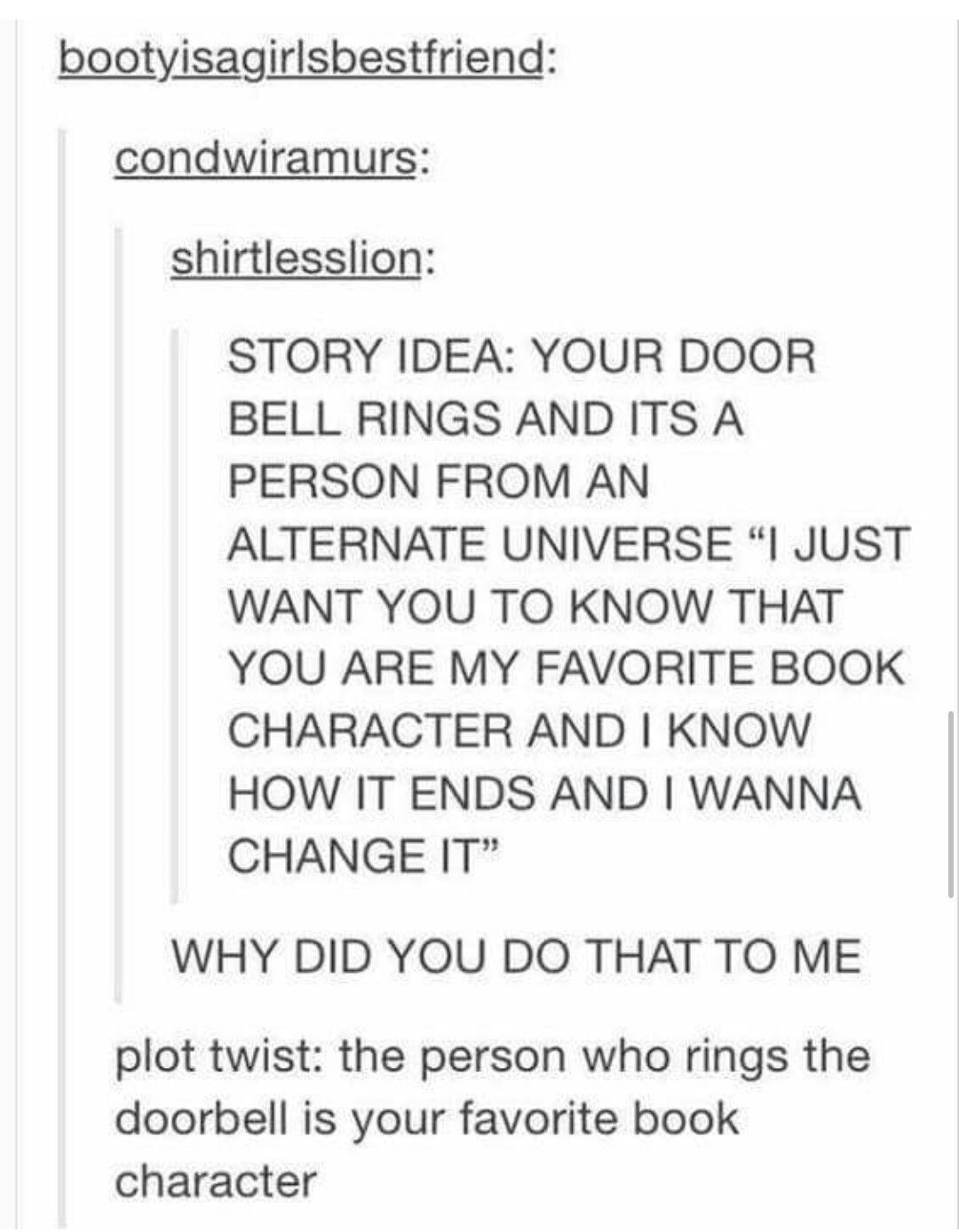Plot Twist:This sounds like Story Theaves | Writing ideas