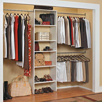 Delicieux ClosetMaid SuiteSymphony Laminate Closet Organizer   White