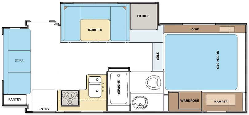 Lance 2465 Travel Trailer Floor Plan Lance Travel Trailers