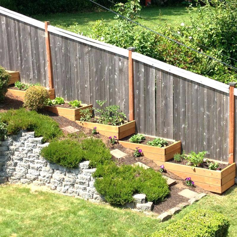 Small Sloped Backyard Ideas Small Slope Landscaping Ideas ...