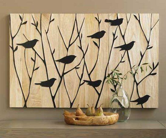 Paneles artesanales para la decoraci n de paredes - Paneles para forrar paredes ...