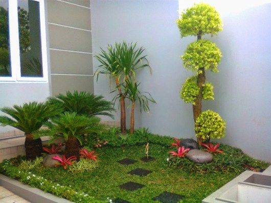 Plantas minimalistas para exteriores jard n pinterest garden garden design y small gardens - Plantas para jardin exterior ...