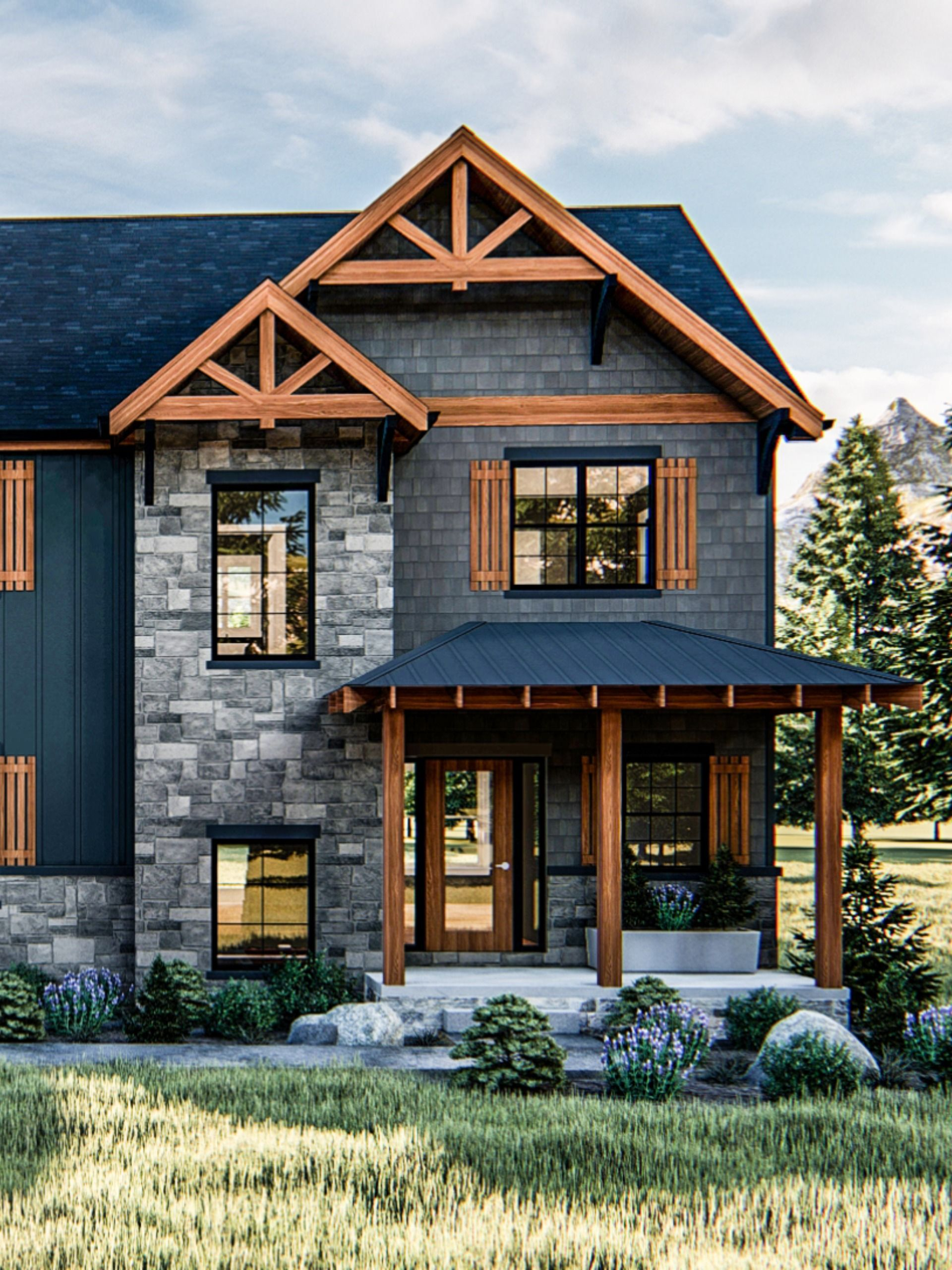 The Best Craftsman House Plans In 2020 Craftsman House Plans Craftsman House Advanced House Plans