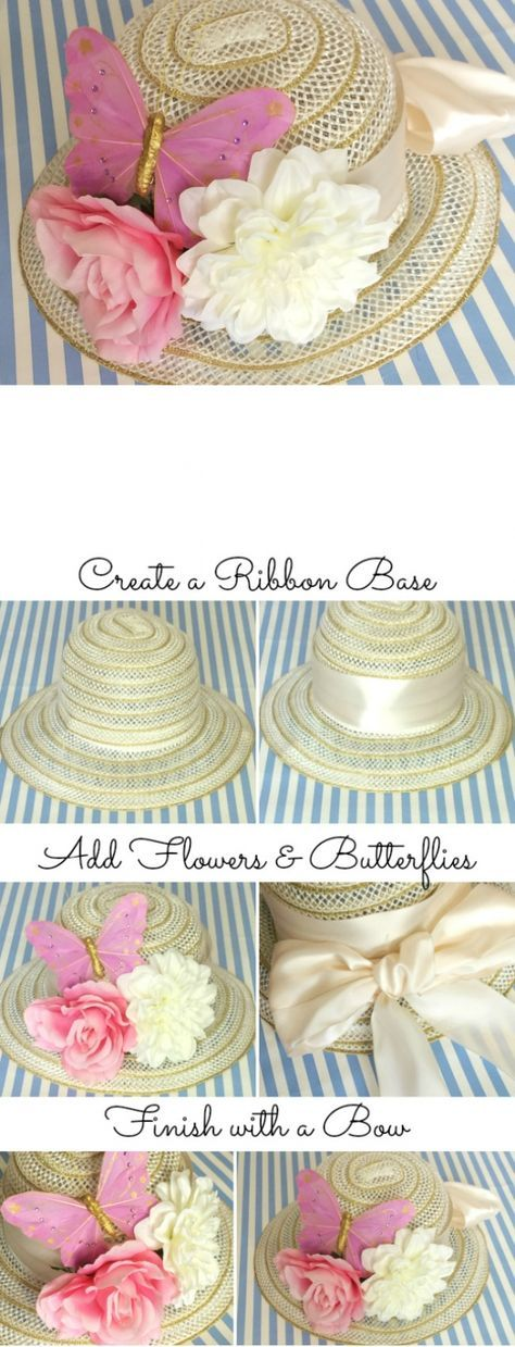 Be the most stylish person at your Kentucky Derby party with these fun DIY  hat ideas. 1673db7b86c