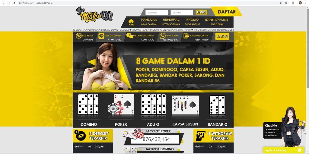 Domino Qiu Qiu Online Domino Online Poker Online