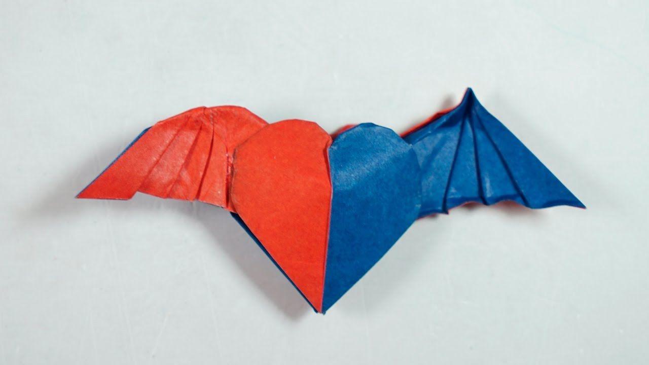 Origami Half Angel Heart Tutorial Henry Phaº M Youtube Origami Love Origami How To Make Origami