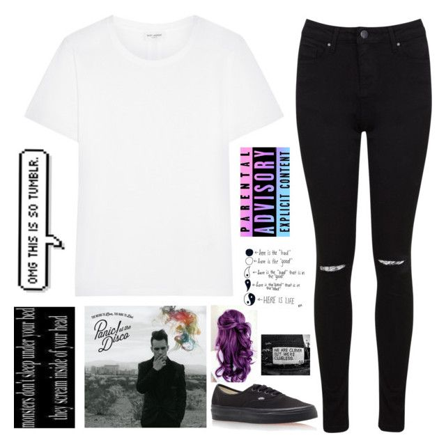 """""""Untitled #655"""" by chill-outfits ❤ liked on Polyvore featuring Yves Saint Laurent, Miss Selfridge, Vans, women's clothing, women, female, woman, misses and juniors"""