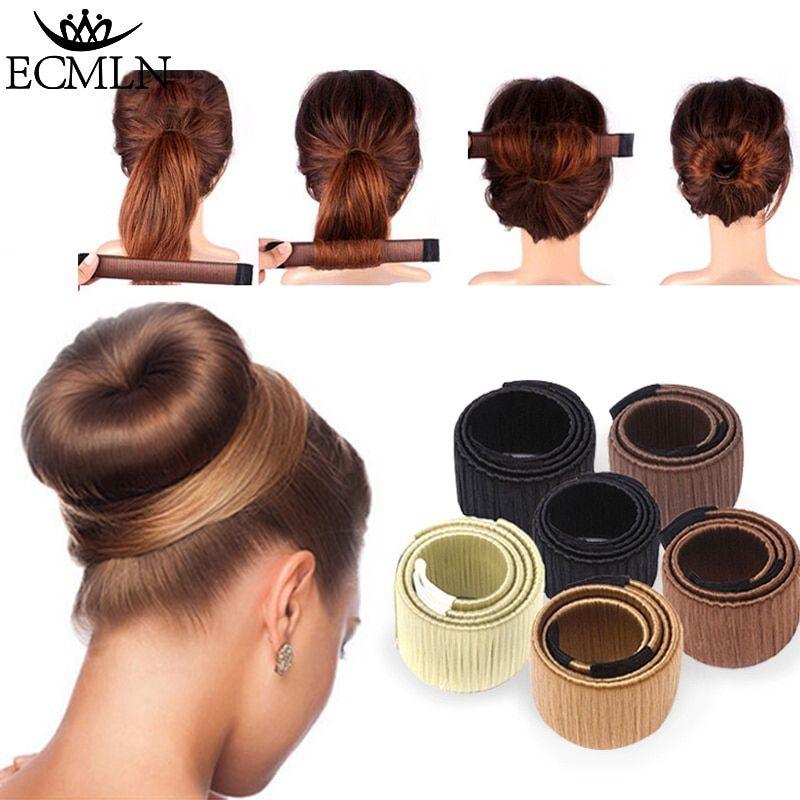 Hair Bun Tool Accesorios Para El Cabello Moños Para Pelo Corto Pelucas
