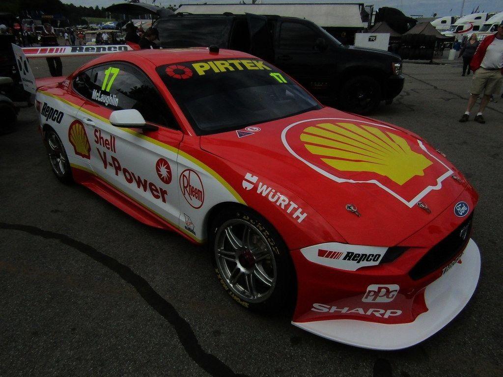 "Team Penske 2019 Ford Mustang Australia Supercar""DJ... -DJR Team Penske 2019 Ford Mustang Austr"