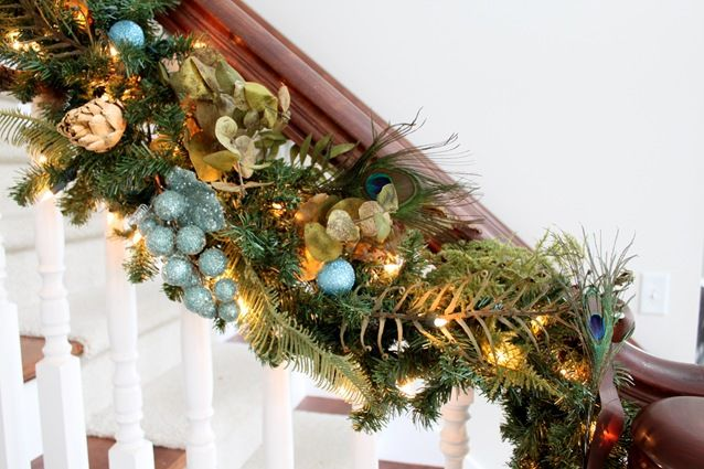 Peacock Christmas Decorating Ideas to bring the natural colors - peacock christmas decorations