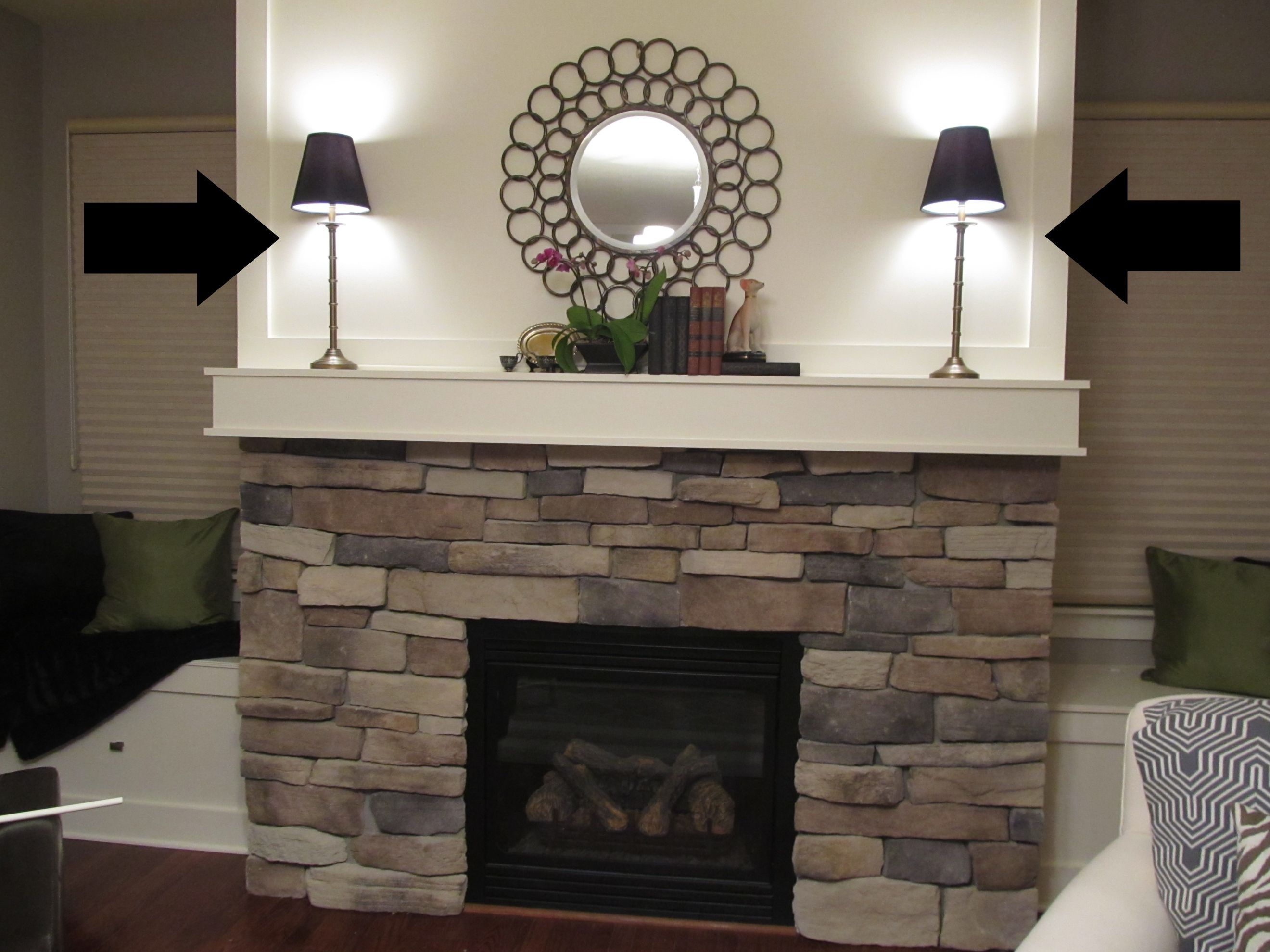 Stone fireplace decorating ideas fireplace mantel decor featured