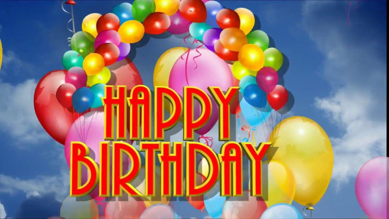 Alles Gute Zum Geburtstag Happy Birthday Geburtstagswunsche Zum