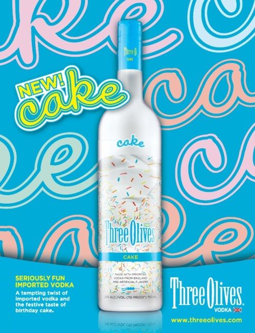 Astonishing Three Olives Vodka Cake Cake Vodka Vodka Cake Vodka Recipes Personalised Birthday Cards Xaembasilily Jamesorg