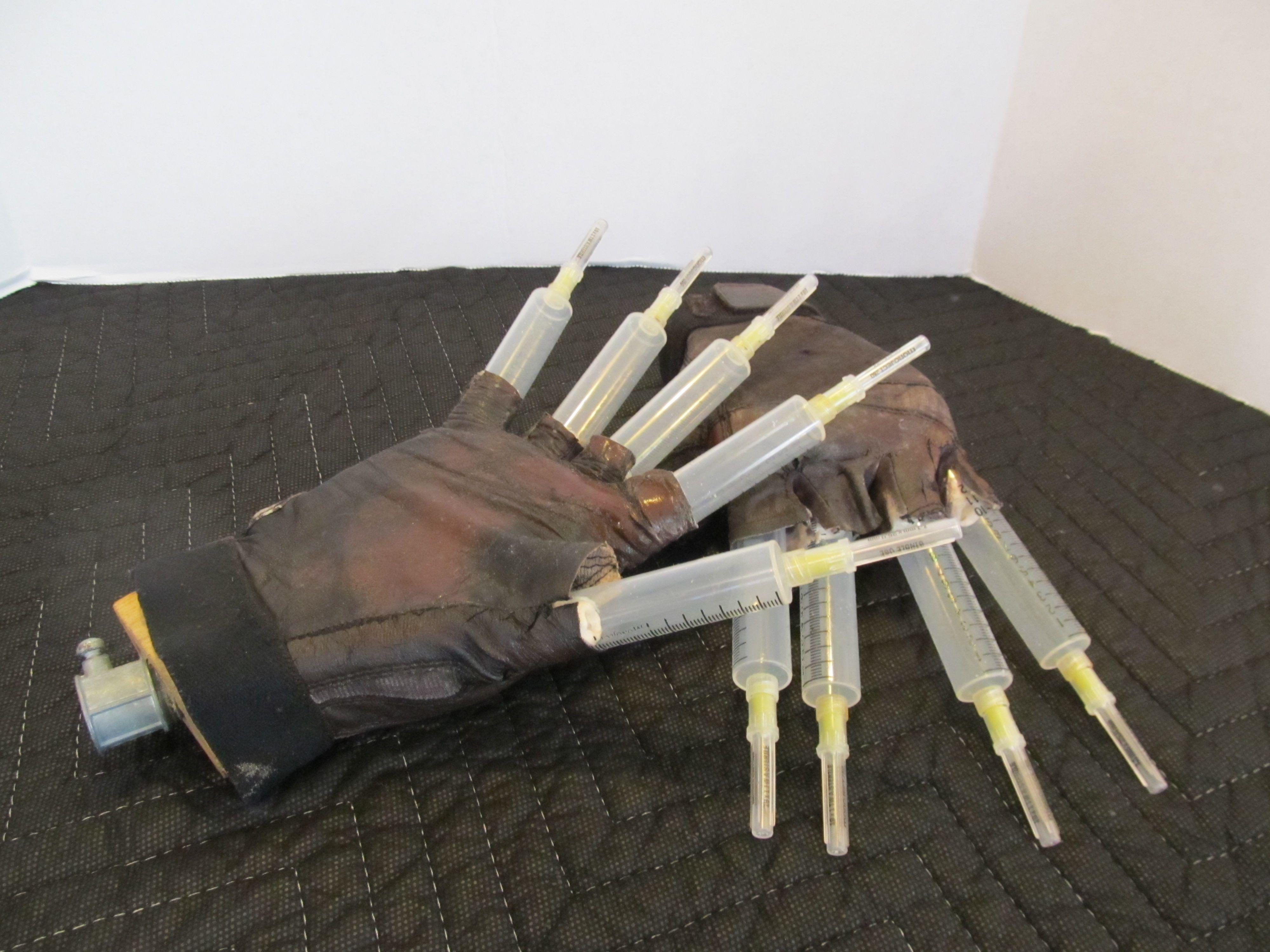 Freddy Krueger Prop Hands