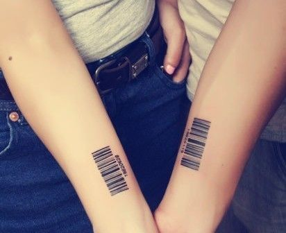 Pin De Cesar Agurto En Ink Tatuaje Codigo De Barras Tatuajes