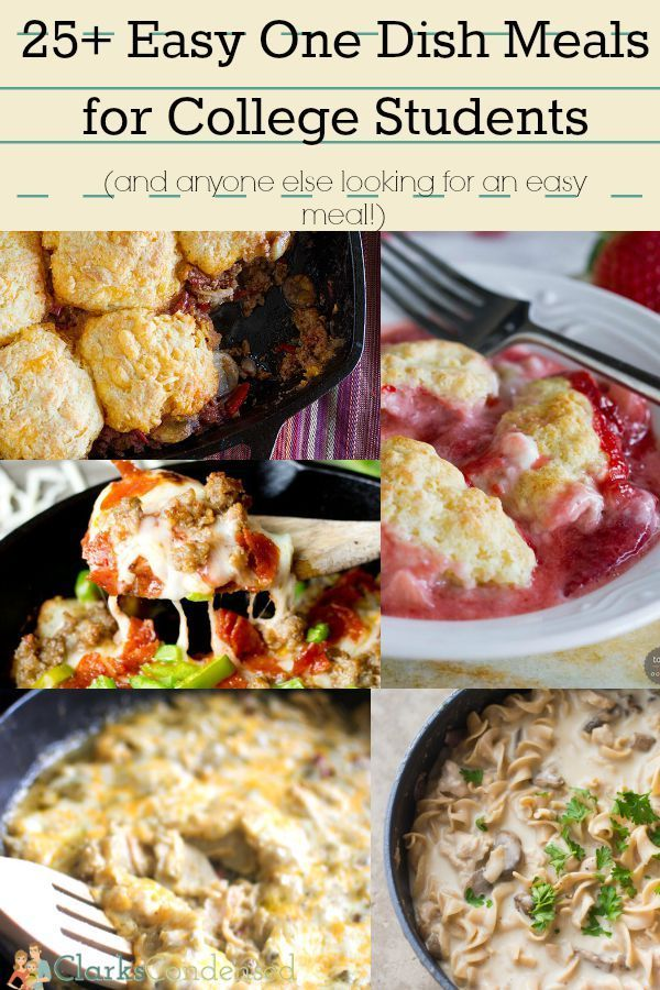 Easy dinner recipes for 25