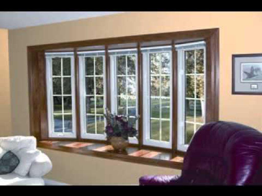 Diy Living Room Bay Window Decorating Ideas Youtube Intended
