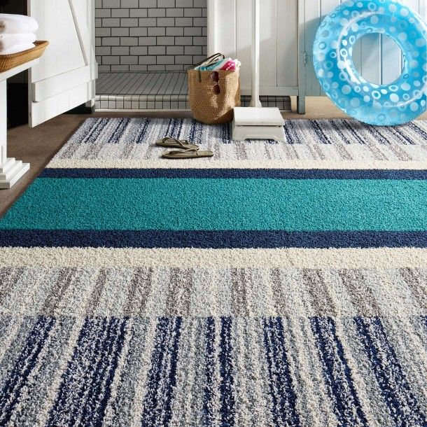 This Rug Features Lt A Href X3d Quot Lt Product Id Gt 2203 Lt X2f Product Id Gt Quot Gt Swimmer Lt X2f A Gt In Flannel B Ocean Breeze Area Rugs Rugs