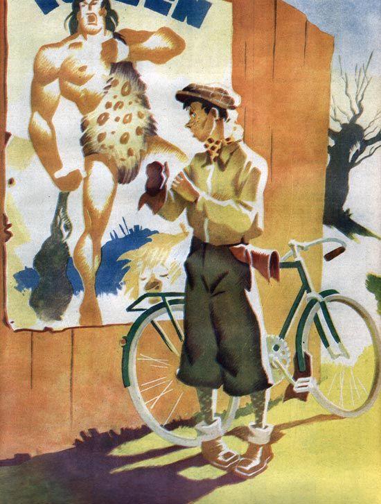 Kuvitti: Poika Vesanto (Seura-lehti 1941)
