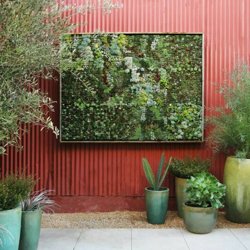 Ein vertikaler Garten selber bauen - Schritt für Schritt Anleitung