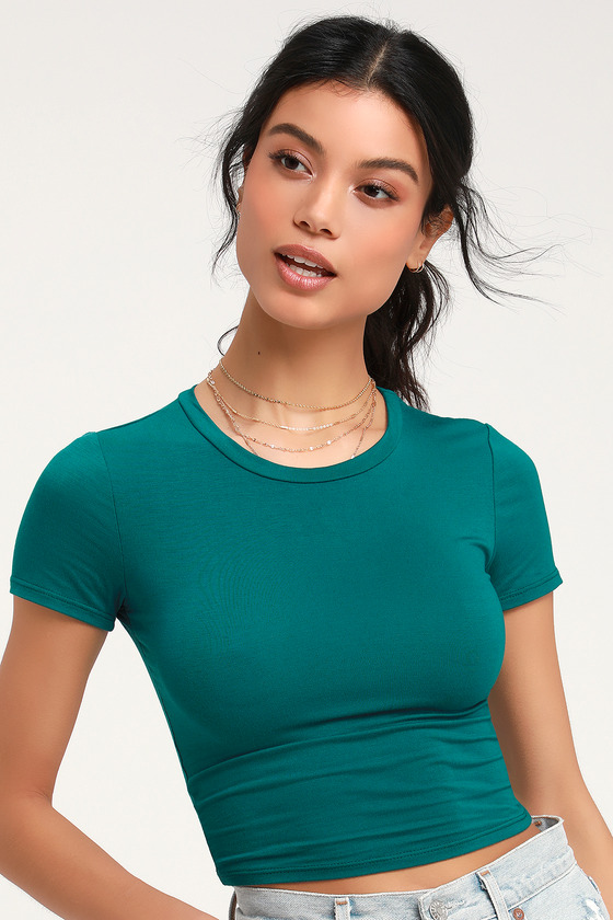 Gotta Have It Teal Blue Crop Top #gottahaveit