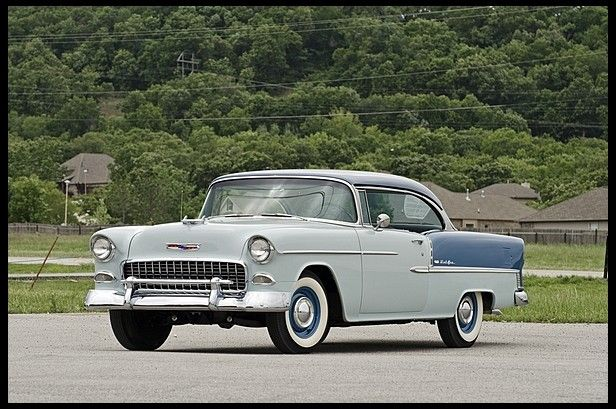 1955 Chevrolet Bel Air Hardtop 265 Ci 3 Speed Presented As Lot