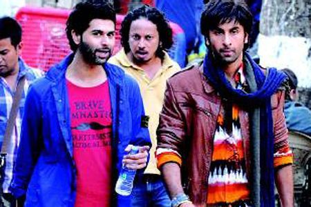 Ranbir gets rough and ready for his new film - Besharam ...