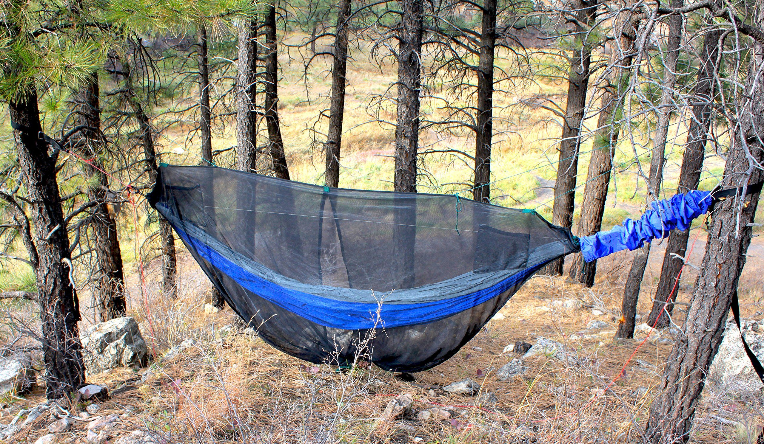 Hammock Bliss Mosquito Net Cocoon The Ultimate Bug Screen Mossy Netting Canopy For Your Camping Hammock With Insect Pro Hammock Camping Tent Camping Bug Screen