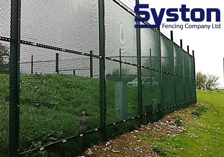 High security perimeter fencing from Syston Fencing 2015