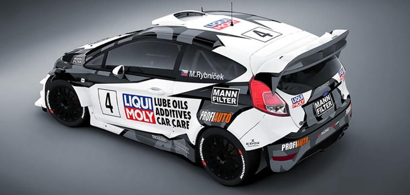 Liqui Moly Racing Team 2017 Rallye Design Folierung