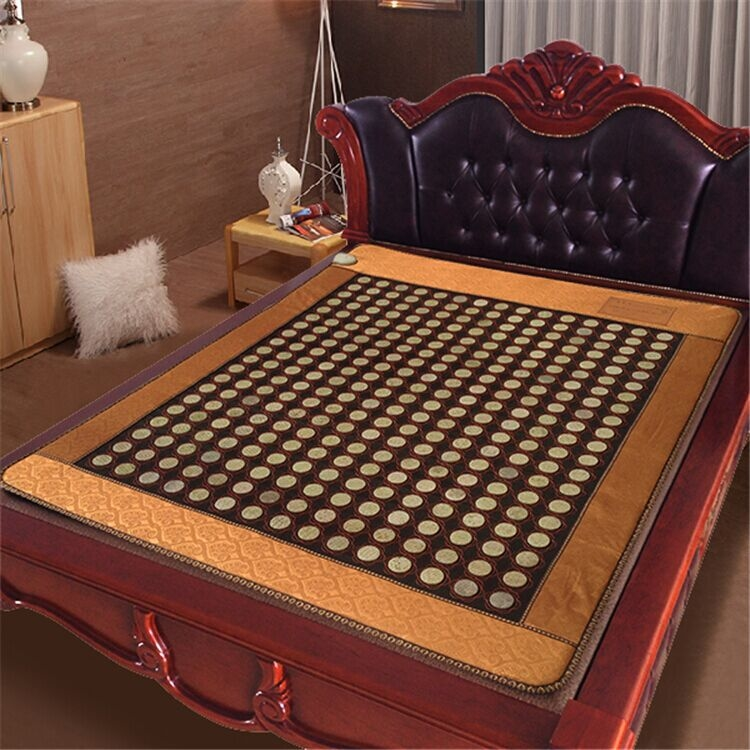 299.70$  Buy here - http://ali8py.worldwells.pw/go.php?t=32419564067 - Online shopping korea jade heat massage mattress pad full body massage mat with infrared heating mat 1.0X1.9M 299.70$