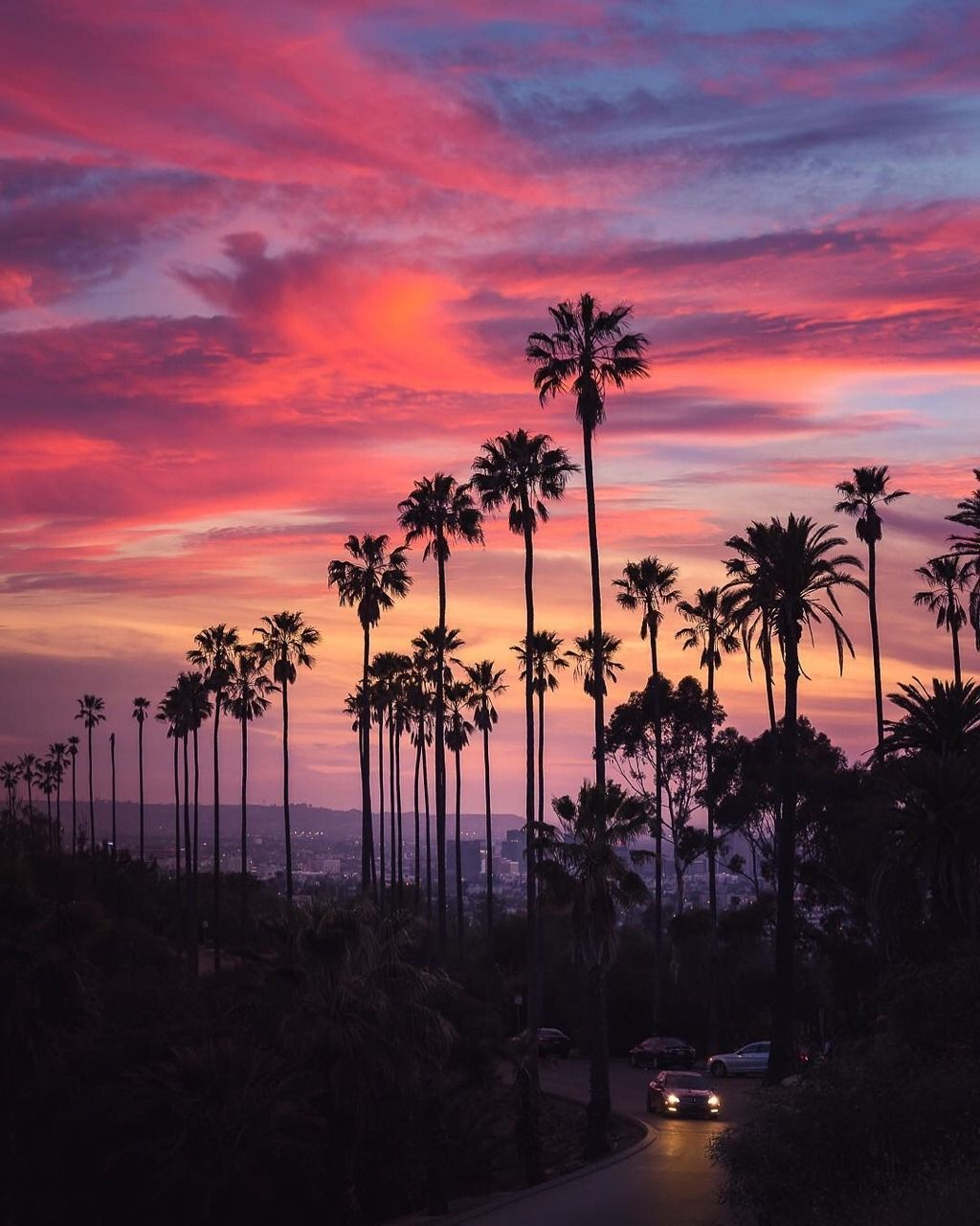 Los Angeles California By 3rdinspiration Photo Beautiful Sunset Los Angeles