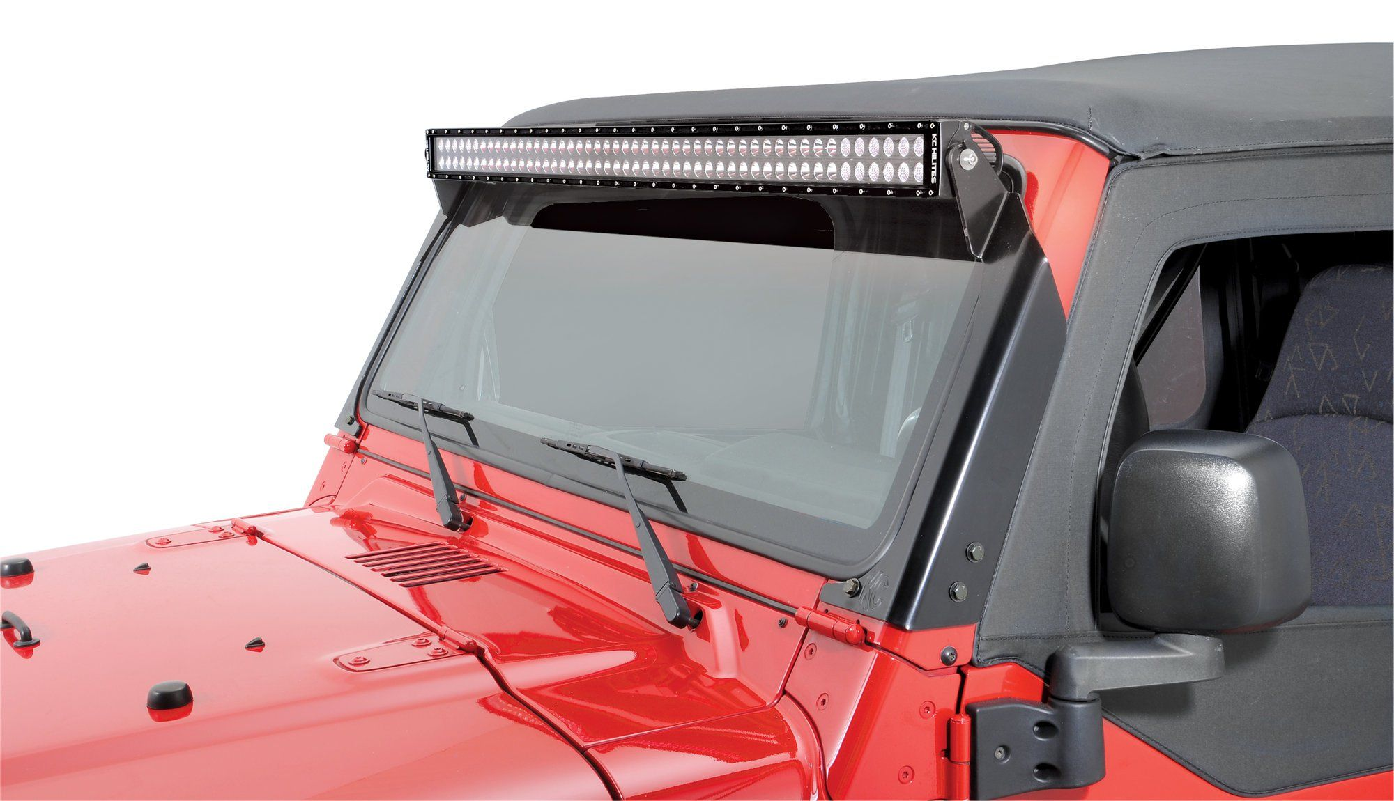 KC HiLiTES C LED bo Beam Light Bar with Harness