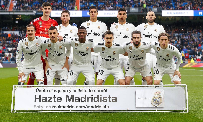 Real Madrid Cf Web Oficial Del Real Madrid Cf Real Madrid Players Real Madrid Madrid