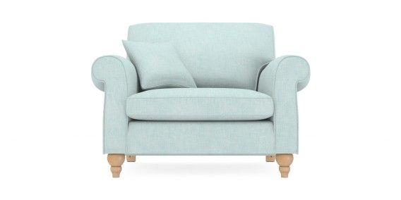 Buy Ashford Snuggle Seat 2 Seats Belgian Soft Twill Teal