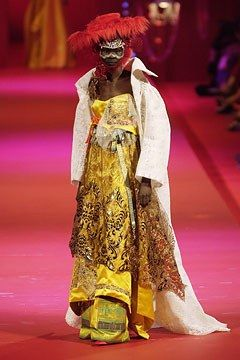 Christian Lacroix Fall 2002 Couture Collection Photos - Vogue