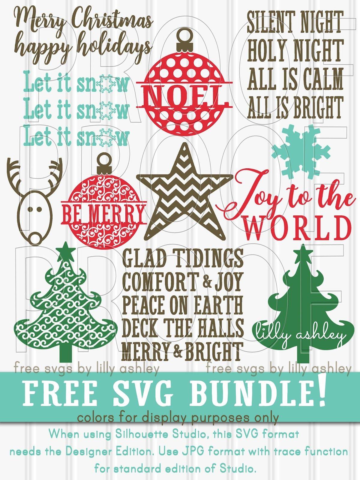 Free Christmas SVG Letter Set Christmas svg, Christmas