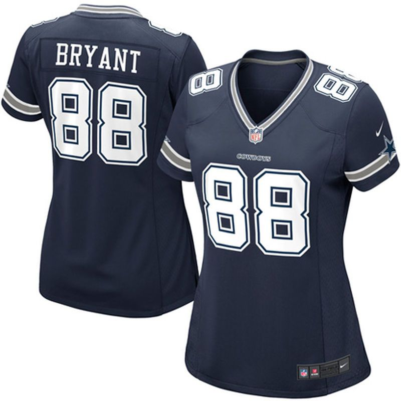 sneakers for cheap bd011 61e79 Dez Bryant Dallas Cowboys Nike Women's Game Jersey - Navy ...