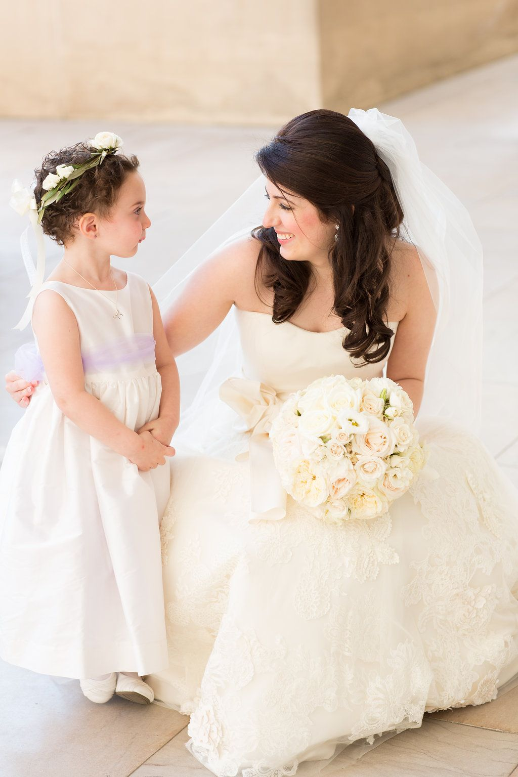 White And Purple Flower Girl Dresses Flower Girl Crown Must Have