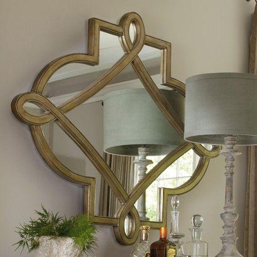 Wonderful Hooker Furniture Sanctuary Shaped Mirror