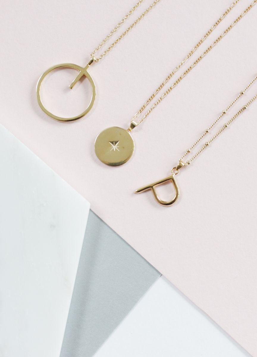 28++ Gold letter pendants wholesale inspirations