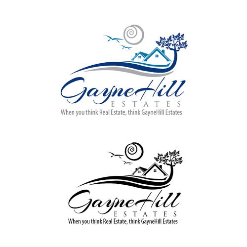 Gaynehill Estates Capture The Logo And Design Of Gaynehill Estates A Real Estate Company Of Oregon First Real Estate Companies Real Estate Logo Real Estate