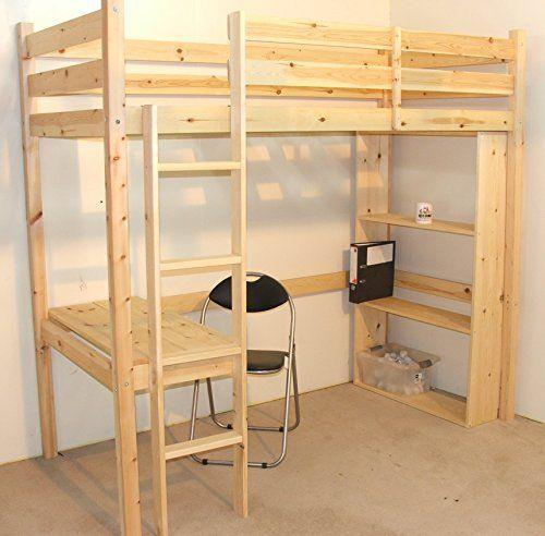 College Lofted Bed University Loft Graduate Series Twin Xl Open