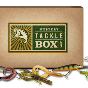 Mystery tackle box find subscription boxes mystery for Monthly fishing box