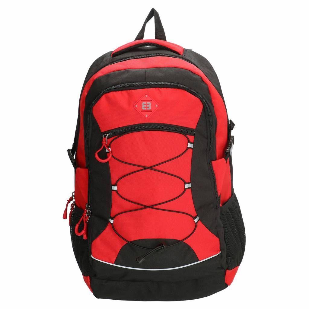 71179906a1f Deze Enrico Benetti Barcelona rugzak is maar liefst 55x35x23cm en 40 liter  groot. De backpack
