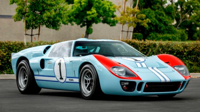 The Ford V Ferrari Ford Gt 40 Mkii Is Going Up For Auction