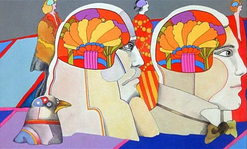 Pin by steve newlin on peter max in 2019 art yellow submarine art