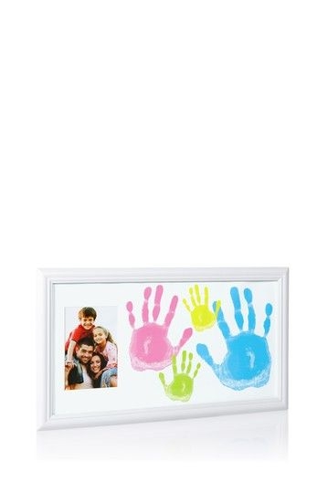 Family Handprint Frame by Pearhead on @HauteLook | Daddy Gifts ...