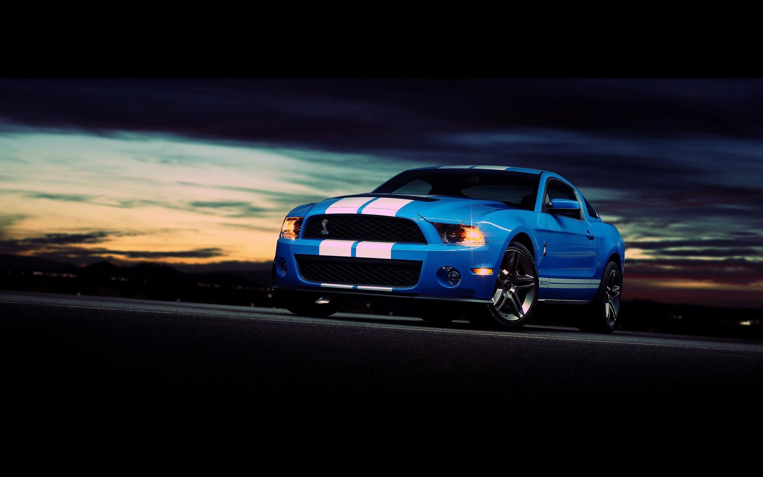 Ford Mustang Shelby Gt500 Hdwallpaperfx Pinterest Shelby Gt500