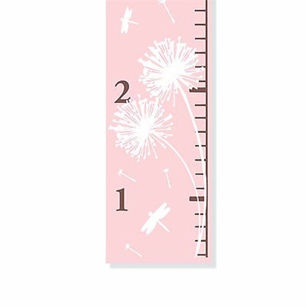 Pink dandelion girls personalized canvas growth chart growth pink dandelion girls personalized canvas growth chart nvjuhfo Gallery
